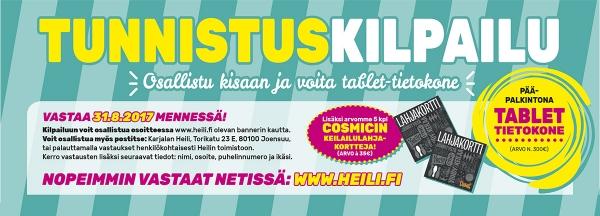 Kilpailut www.heili.fi/tunnistuskilpailu
